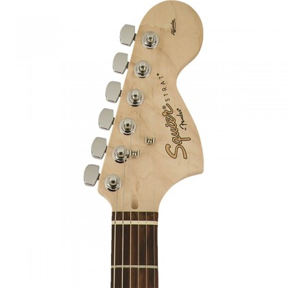 Squier Affinity Stratocaster Electric Guitar, Maple FingerBoard, Black