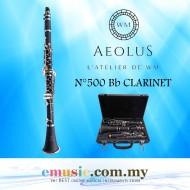 Aeolus N°500 Bb Clarinet (No.500 / N.500 / N500 / N'500)