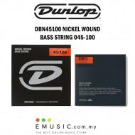 Jim Dunlop DBN45100 Nickel Wound Bass Guitar String 045-100