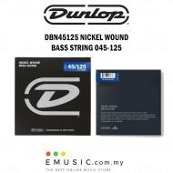 Jim Dunlop DBN45125 Nickel Wound Bass Guitar String 045-125 - 5-String