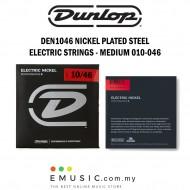 Jim Dunlop DEN1046 Nickel Plated Steel Electric Guitar Strings Medium 010-046