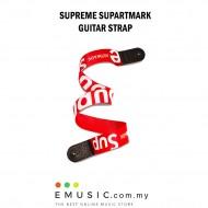Sup Supartmark Supreme Guitar Strap Red